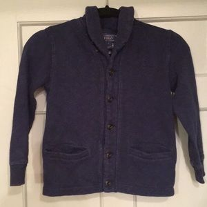 Polo Casual Blazer-Cut Button-Up Jacket/Sweatshirt